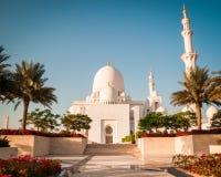 Sheikh Zayed White Mosque Royalty Free Stock Photos