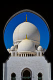 Sheikh Zayeed Grand Mosque. In Abu Dhabi Royalty Free Stock Photos