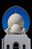 Sheikh Zayeed Uroczysty meczet Zdjęcia Royalty Free
