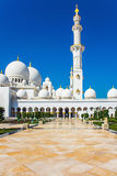 Sheikh Zayid Mosque. In Abu Dhabi UAE Royalty Free Stock Images