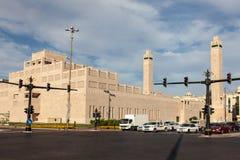 Sheikha萨拉玛Bint贝蒂清真寺在艾因 库存图片