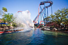 SheiKra Royalty Free Stock Images