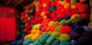 Sheila Hicks bale of fiber and tissues. Stock Photography