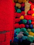 Sheila-Hicks-bale-of-fiber-and-tissues. Stock Photography