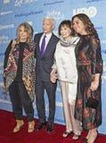 Sheila Nevins, Anderson Cooper, Gloria Vanderbilt, & Liz Garbus Royalty Free Stock Photography