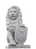 sheild льва Стоковая Фотография