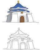 shek мемориала kai залы chiang Стоковые Изображения