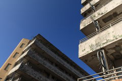 Shek kip mei estate. Is the first public housing estate in Hong Kong and wasted at the end of 2006 stock photos