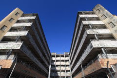 Shek kip mei estate. Is the first public housing estate in Hong Kong and wasted at the end of 2006 stock photo