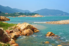 Shek O back beach. Tai Tau Chau island, Shek O Hongkong, china stock photos