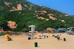 Shek o beach, hong kong Royalty Free Stock Image
