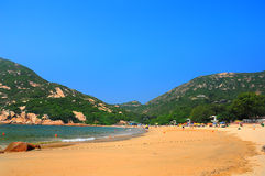 Shek o beach, hong kong Royalty Free Stock Photo