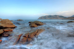 Shek o coast Royalty Free Stock Photography