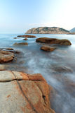 Shek o coast Stock Photos