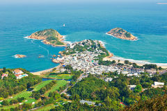 Shek O. This photo was taken in Shek O Dragon's back Hongkong, china stock photography
