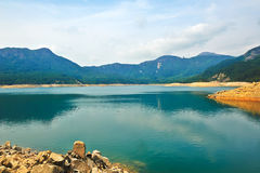 Shek Pik lake Stock Photos