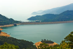 Shek Pik reservoir Royalty Free Stock Photos