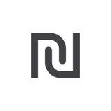 Shekel symbol.  sign, solid logo illustration, pictogram i Stock Image