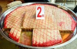 Sheki Halva sul mercato l'azerbaijan immagine stock libera da diritti