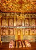 Sheki : Khan Winter Palace, à l'intérieur Photographie stock libre de droits
