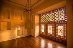 Sheki : Khan Winter Palace, à l'intérieur Images stock