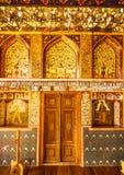 Sheki: The Khan Winter Palace, inside. Stock Photo
