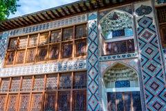 Sheki Xan Sarayi, palace of sheki Khans Stock Photography