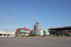 Shekou-Containerbahnhof, SCT Lizenzfreie Stockfotos