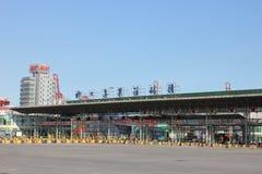 Shekou-Containerbahnhof, SCT Lizenzfreies Stockfoto