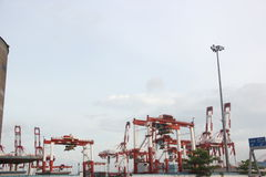 The Shekou port in shenzhen Stock Images