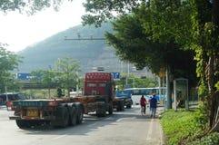 Shekou in Shenzhen road traffic Stock Photo