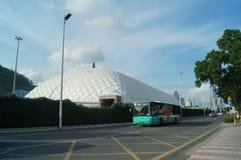Shekou in Shenzhen road traffic Royalty Free Stock Images