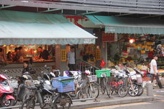 Shekou vegetable market in SHENZHEN Stock Photography
