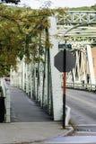 Shelburne cai ponte de fardo imagens de stock royalty free