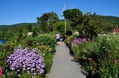 Shelburne Falls, MA: Bridge of Flowers Royalty Free Stock Images