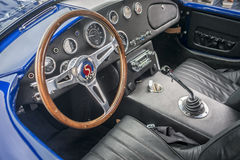 Shelby ac cobra cockpit Stock Photo