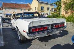 1968 shelby cabriolet för mustang gt350 Arkivbild