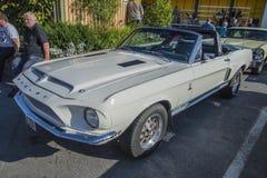 1968 shelby cabriolet för mustang gt350 Fotografering för Bildbyråer