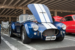 shelby cobra at cars and coffee Stock Images