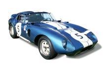 Shelby Cobra Daytona-Coupé lokalisiert Lizenzfreie Stockbilder
