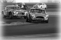 Shelby Cobra in Le Mans Stock Photo