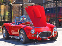 Shelby Cobra. This is a particularly nice replica of the legendary Shelby Cobra parked in front of a condominium complex in Big Bear Lake, California Royalty Free Stock Image