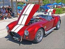 Shelby Cobra roja Fotos de archivo