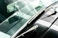 Shelby Cobra. Silver and black Shelby Cobra Stock Photography