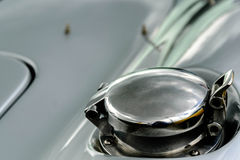 Shelby Cobra. Silver and black Shelby Cobra Stock Photo