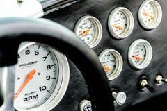 Shelby Cobra. Silver and black Shelby Cobra Royalty Free Stock Photo