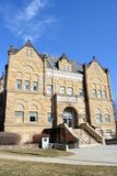 Shelby County Court House-Harlan Iowa Royalty Free Stock Photography