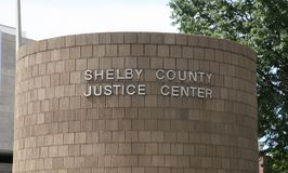 Shelby County Justice Center Royalty Free Stock Image