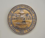 Shelby County Tennessee Seal Photographie stock libre de droits