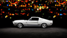 1968 Shelby GT500 Kr Royalty-vrije Stock Afbeeldingen